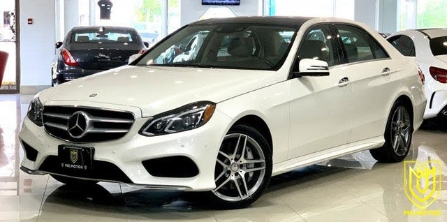2015 Mercedes-Benz E-Class E 550 4MATIC Sedan AWD