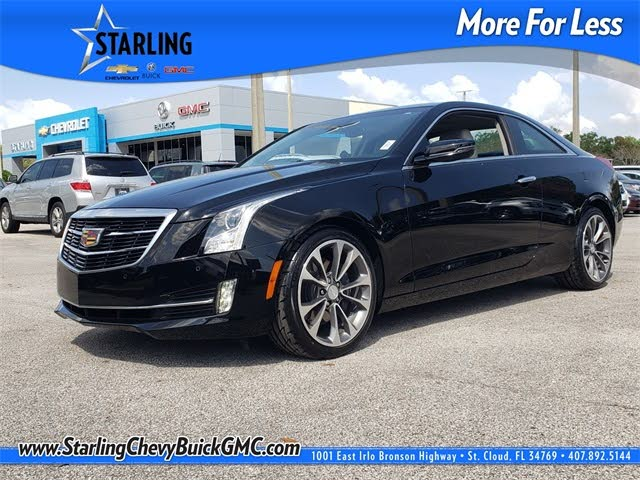 2017 Cadillac ATS Coupe 2.0T Luxury RWD