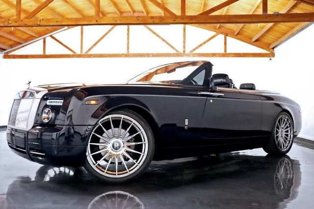 2010 Rolls-Royce Phantom Drophead Coupe Convertible