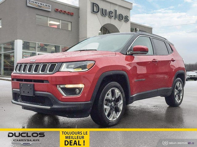 2018 Jeep Compass Limited 4WD
