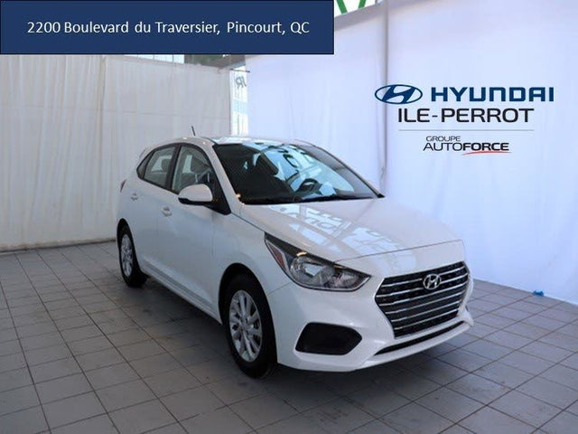 2019 Hyundai Accent Preferred Hatchback FWD