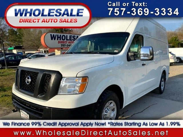 2014 Nissan NV Cargo 2500 HD S with High Roof V8