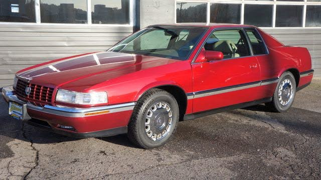 used 1995 cadillac eldorado for sale right now cargurus used 1995 cadillac eldorado for sale
