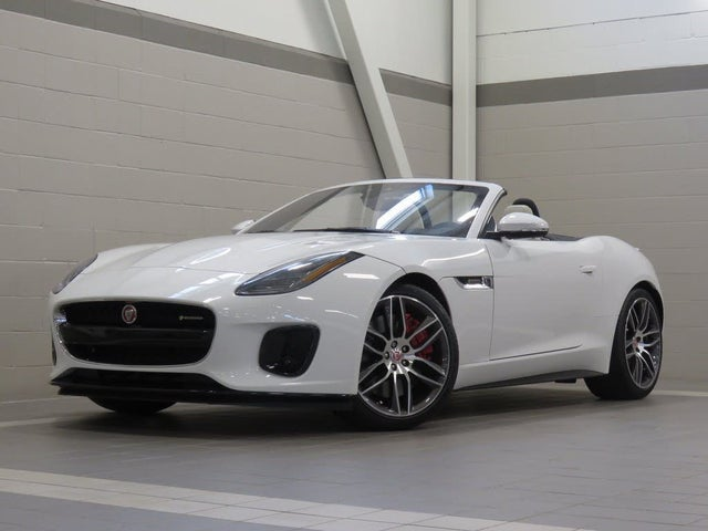 Used 2020 Jaguar F-TYPE R-Dynamic Convertible AWD for Sale ...