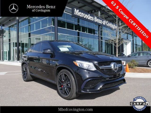 2017 Mercedes-Benz GLE-Class GLE AMG 63 4MATIC S Coupe