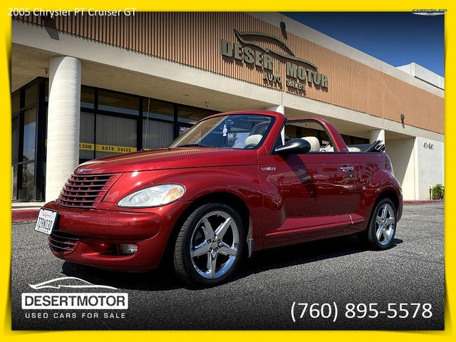 2005 Chrysler PT Cruiser GT Convertible FWD