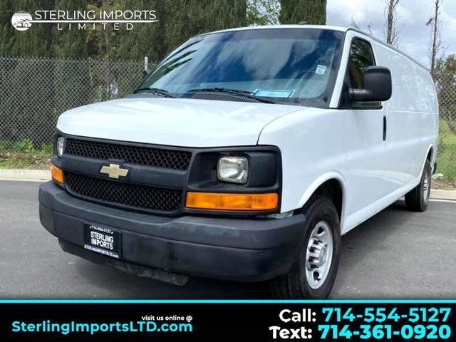 2013 Chevrolet Express Cargo 2500 Extended RWD