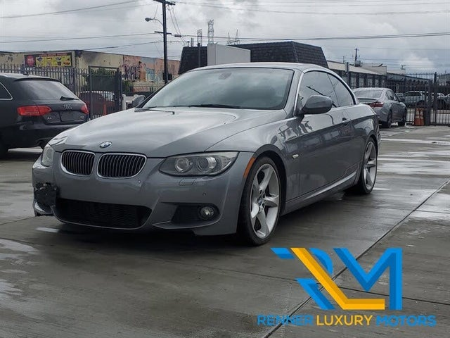2013 BMW 3 Series 335i Convertible RWD