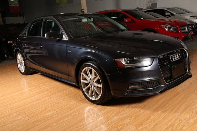 2015 Audi A4 2.0T quattro Technik Sedan AWD