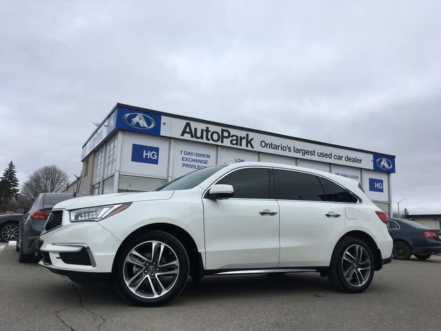 2018 Acura MDX SH-AWD with Navigation