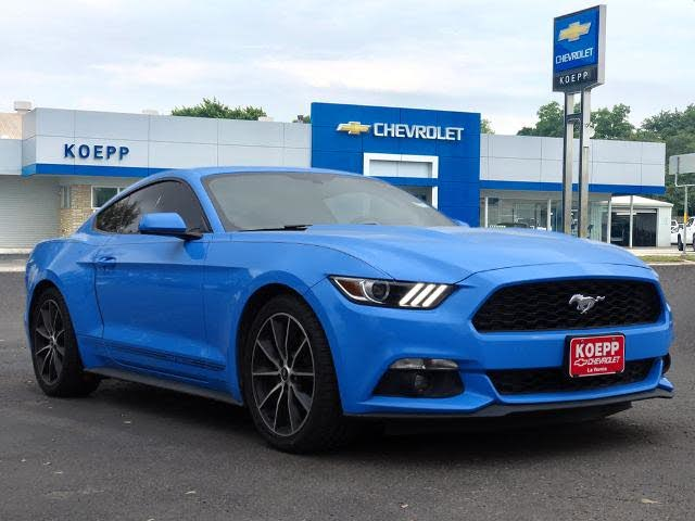 2017 Ford Mustang EcoBoost Coupe RWD