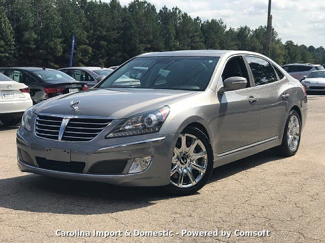used hyundai equus for sale in raleigh nc  cargurus