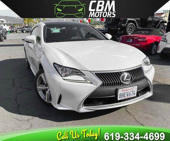 Lexus Rc 200: Used Lexus RC 200t For Sale In San Diego, CA