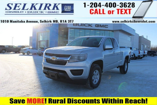 2020 Chevrolet Colorado Work Truck Extended Cab RWD