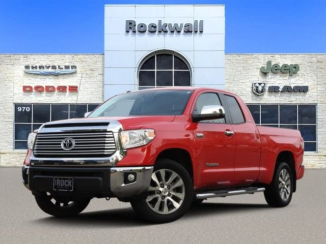 2016 Toyota Tundra Limited Double Cab 5.7L FFV
