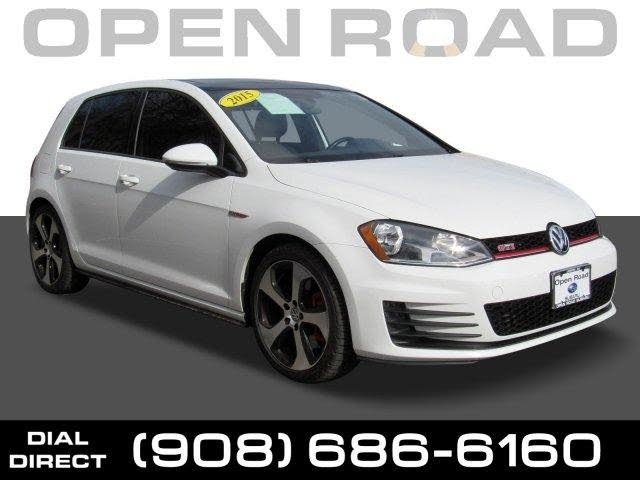 2015 Volkswagen GTI 2.0T SE 4-Door FWD with Performance Package