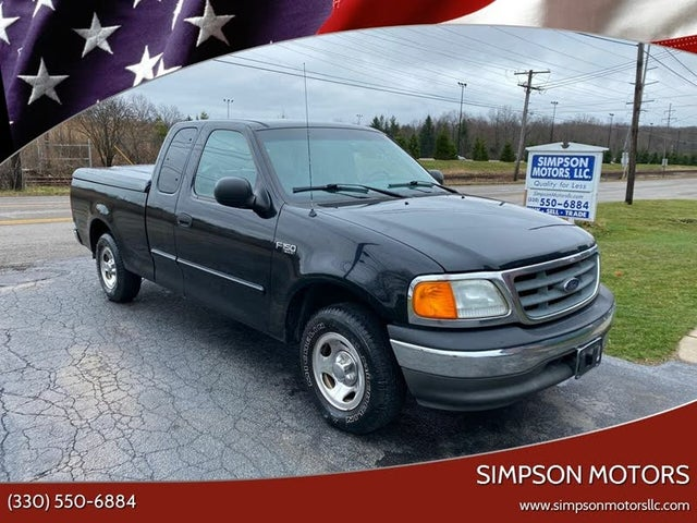 2004 Ford F-150 Heritage 4 Dr XLT Extended Cab SB