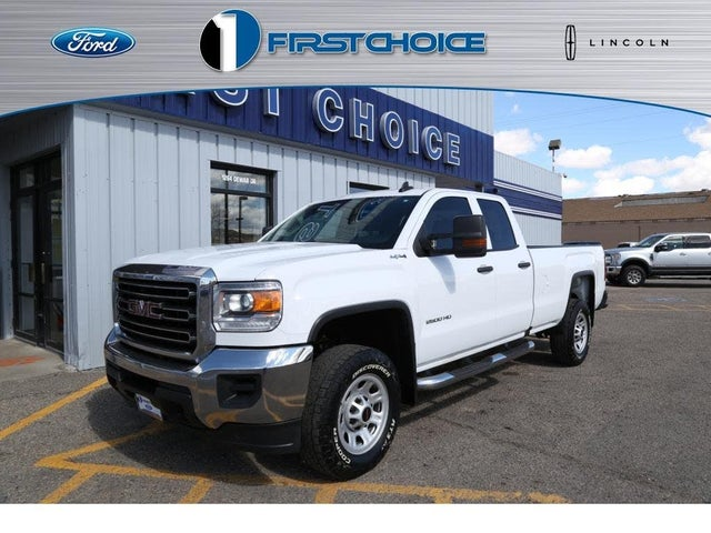 2016 GMC Sierra 2500HD Base Double Cab SB 4WD