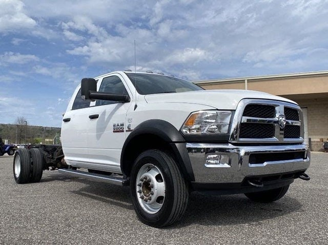 2018 RAM 5500 Chassis