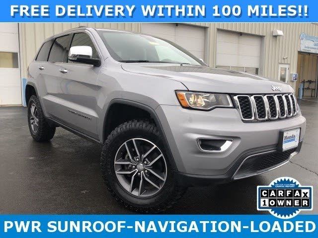 2018 Jeep Grand Cherokee Limited 4WD