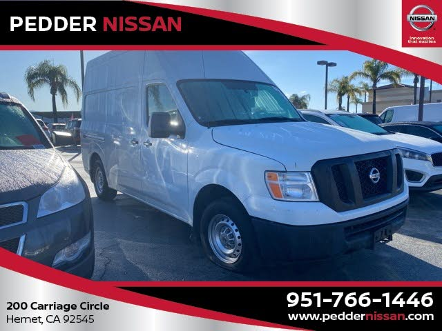 2017 Nissan NV Cargo 2500 HD S with High Roof