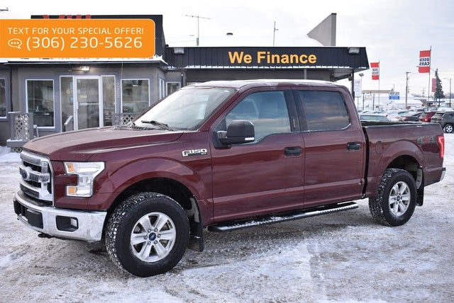 2016 Ford F-150 XLT SuperCrew 4WD