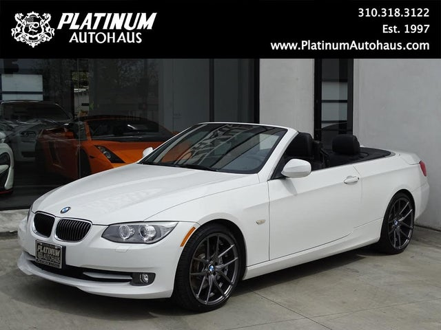 2012 BMW 3 Series 335i Convertible RWD