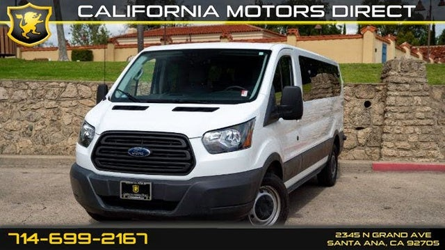 2017 Ford Transit Passenger 350 XL Low Roof LWB RWD with 60/40 Passenger-Side Doors