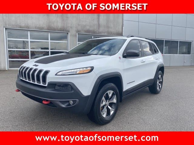 2015 Jeep Cherokee Trailhawk 4wd For Sale In Knoxville Tn Cargurus