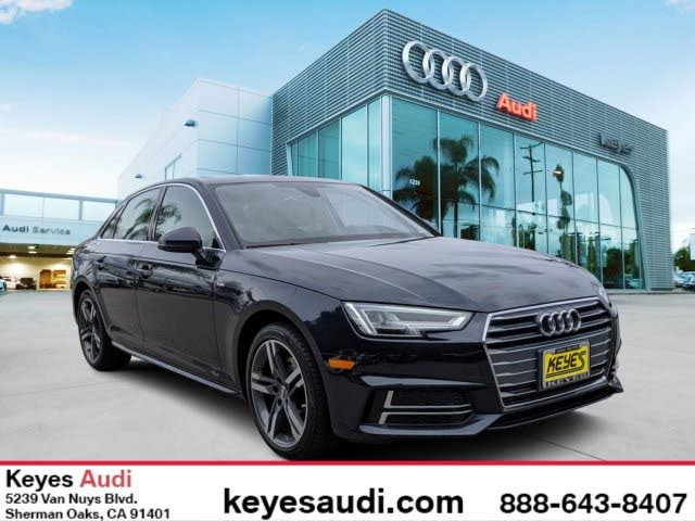 2018 Audi A4 2.0T ultra Premium Plus Sedan FWD