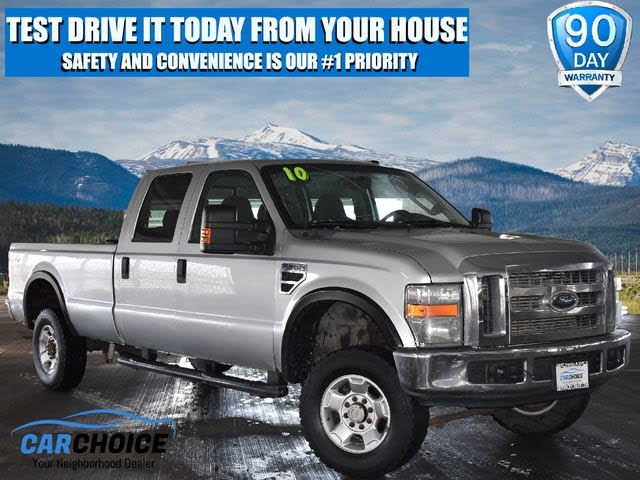 2010 Ford F-350 Super Duty King Ranch Crew Cab 4WD