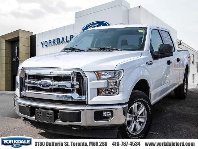 2017 Ford F-150 XL SuperCrew LB 4WD