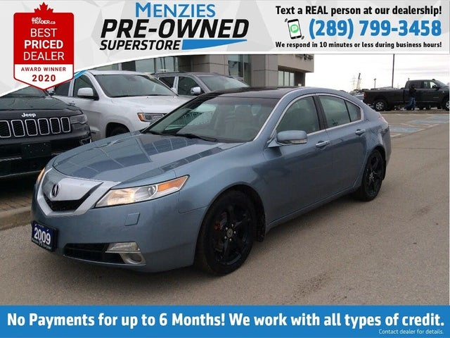 2009 Acura TL SH-AWD with Technology Package