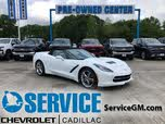 2016 Chevrolet Corvette Stingray 1LT Convertible RWD