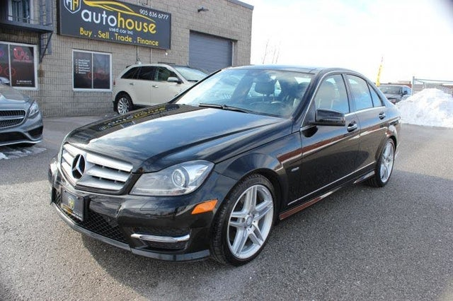 2012 Mercedes-Benz C-Class C 350 4MATIC Sedan