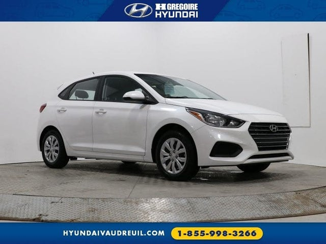2018 Hyundai Accent L 5-Door Hatchback FWD
