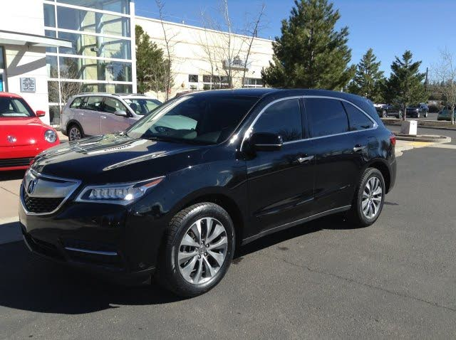 2016 Acura MDX FWD with AcuraWatch Plus Package