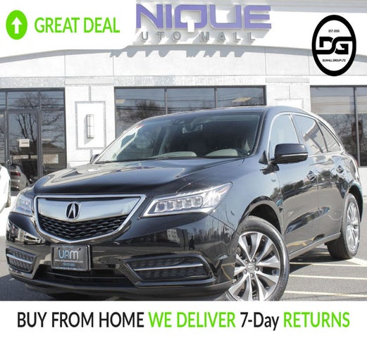 Used 2016 Acura MDX SH-AWD With Technology And AcuraWatch