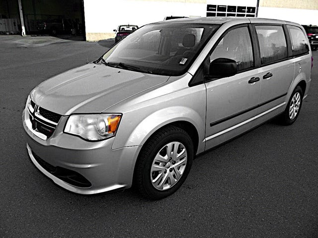 2014 Dodge Grand Caravan Canada Value Package FWD