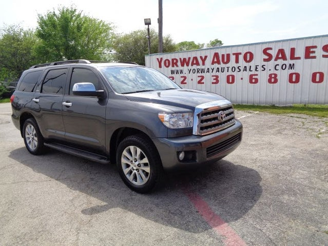 2013 Toyota Sequoia Limited FFV 4WD