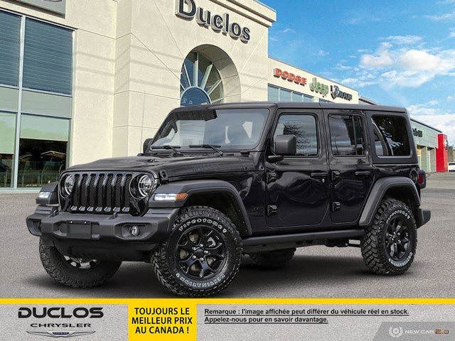 2020 Jeep Wrangler Unlimited Willys 4WD
