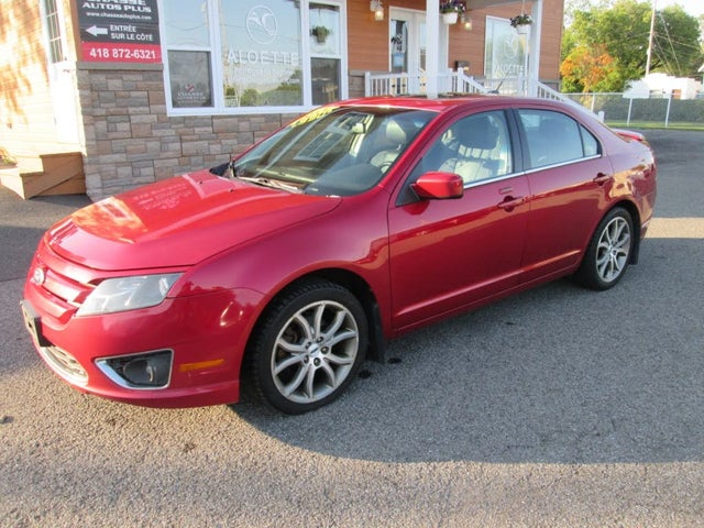2011 Ford Fusion SEL V6 AWD