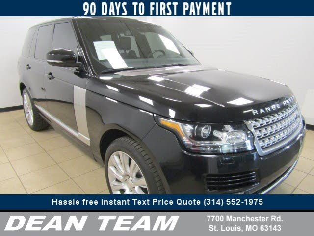 2014 Land Rover Range Rover Supercharged Ebony Edition