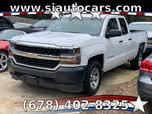 2017 Chevrolet Silverado 1500 Work Truck Double Cab 4WD