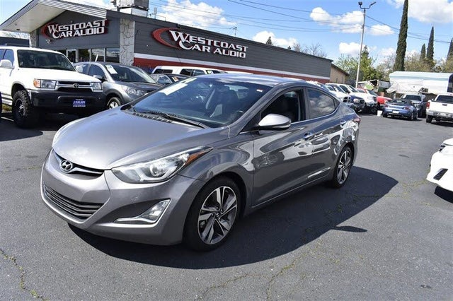 2014 Hyundai Elantra Limited Sedan FWD