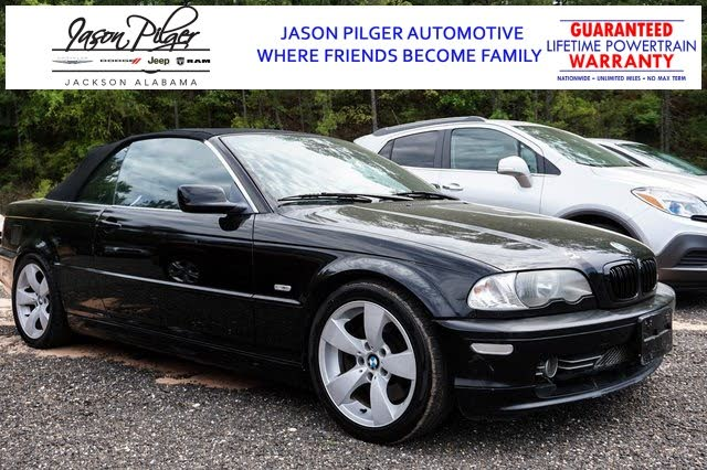 2001 BMW 3 Series 330Ci Convertible RWD