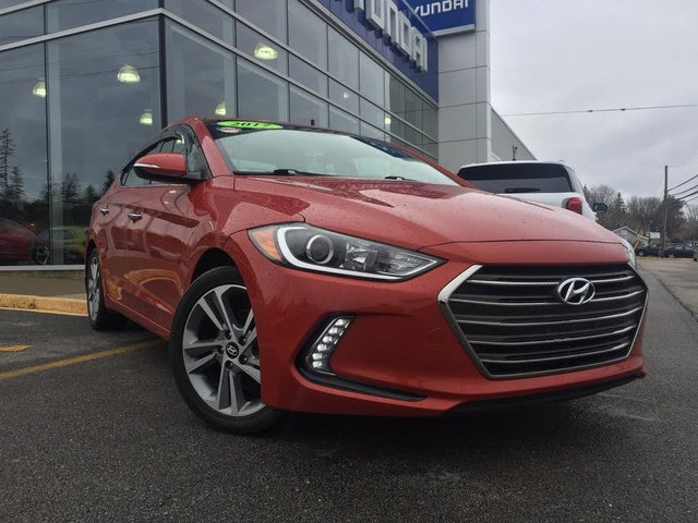 2017 Hyundai Elantra Ultimate Sedan FWD