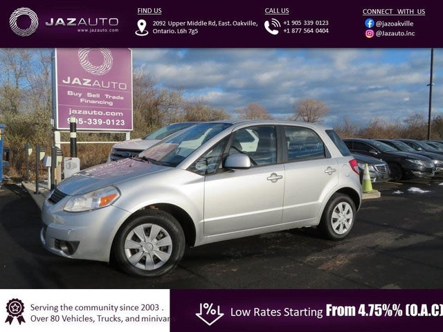 2010 Suzuki SX4 Base Crossover