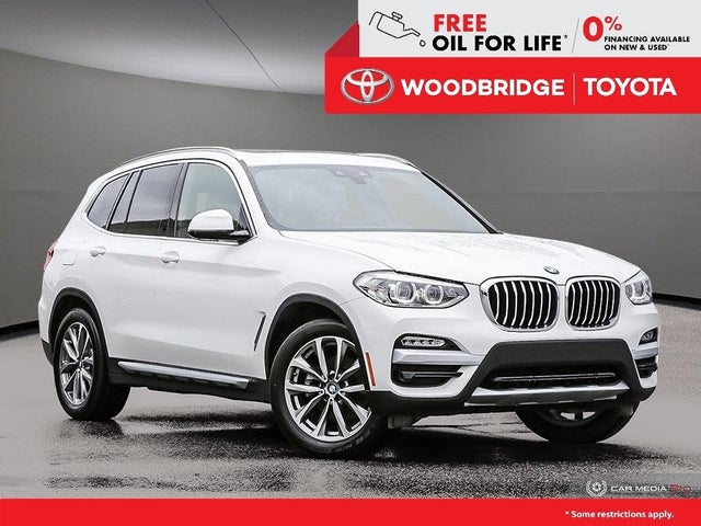 2019 BMW X3 xDrive30i AWD