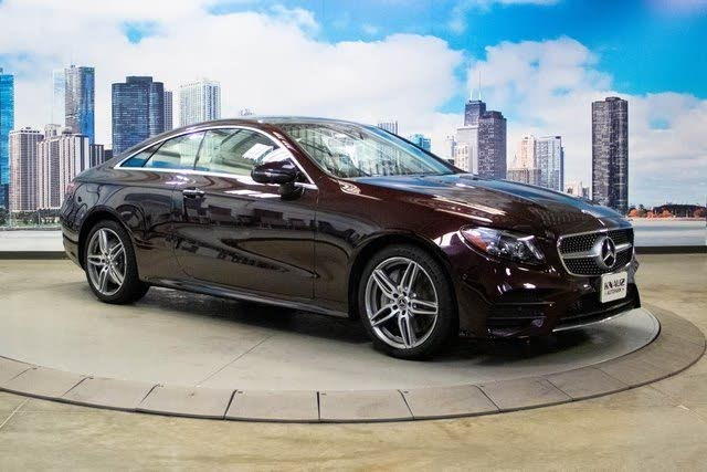 2020 Mercedes-Benz E-Class E 450 4MATIC Coupe AWD